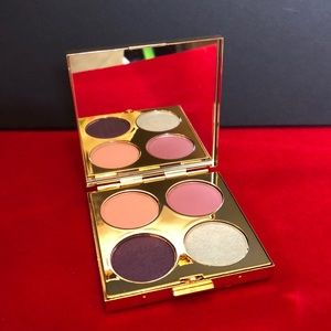 MAC 70s Sunset Eyeshadow Quad (Gold Metal compact)